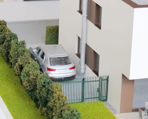 DASCH Architektonický model