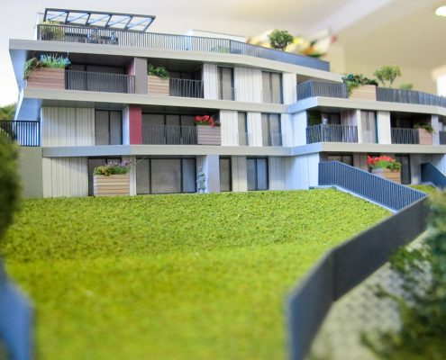 Gansberg Architektonický model