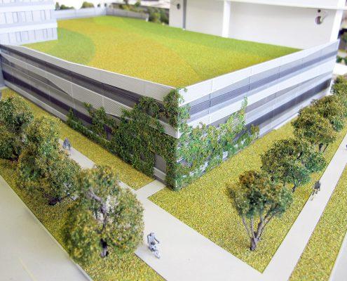 Klingerka Architektonický model