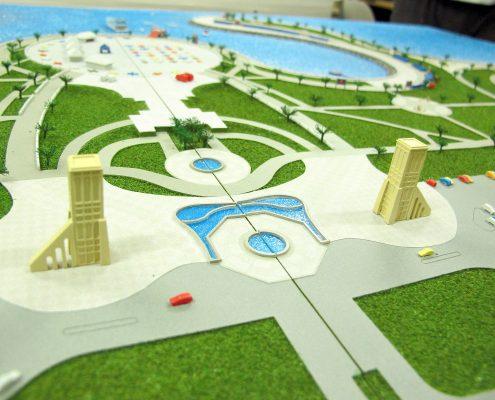 Dammam, model športového podujatia