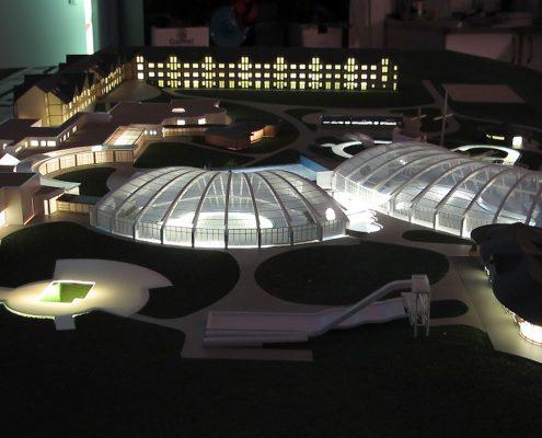 farebný model aquaparku