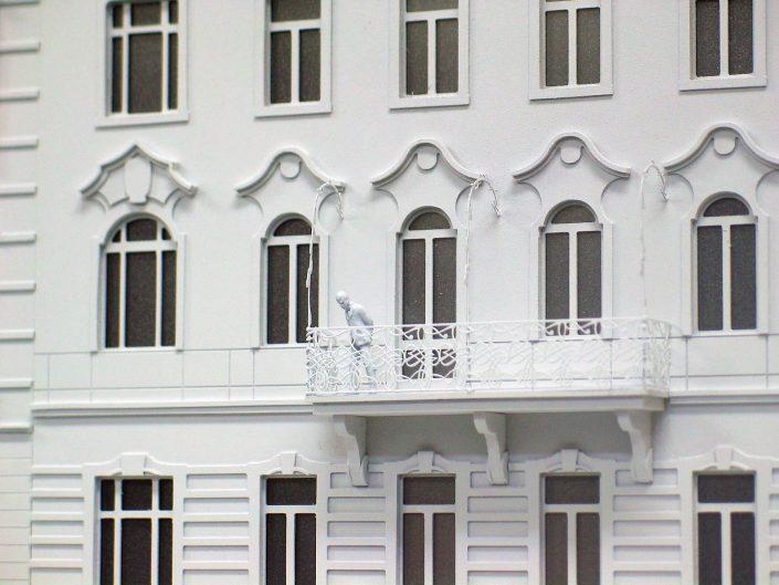detailný model rekonštrukcie historického objektu