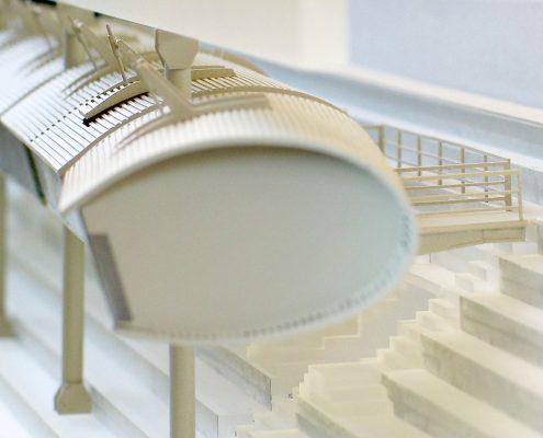 dizajnový návrh VIP boxov zimného štadióna