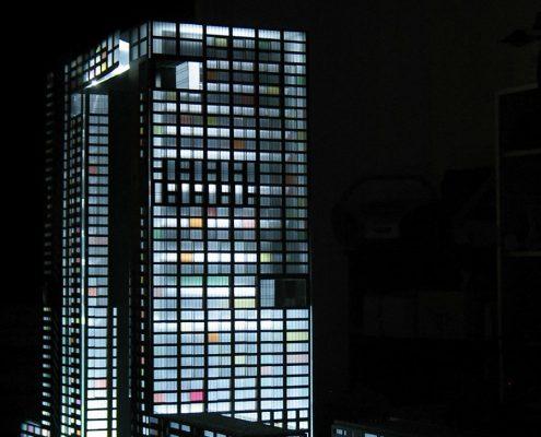 prezentačný model bytového objektu Slovany