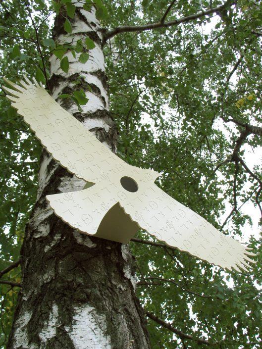 dizajnový návrh vtáčej búdky