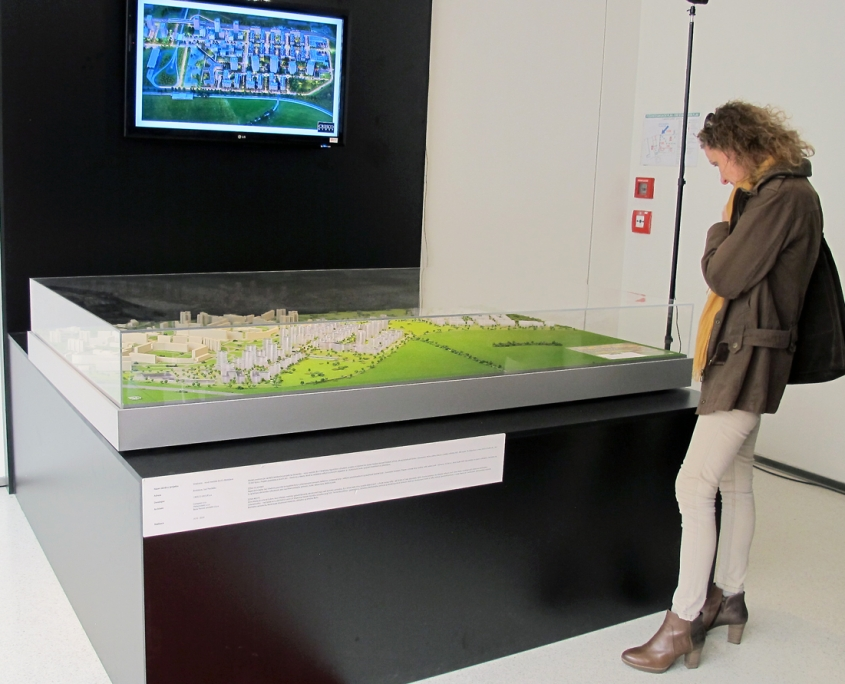 urbanistický model mestskej časti Bratislava - Petržalka