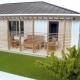 Farebný rozoberateľný model rodinného domu