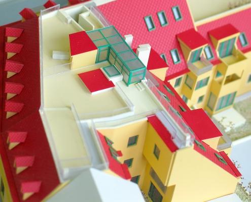 Farebný prezentačný model rekonštrukcie historických bytových objektov
