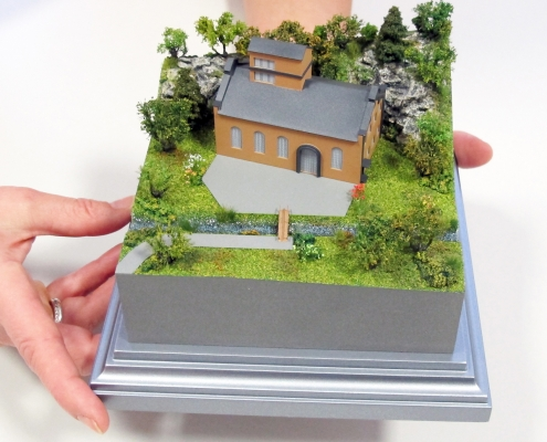 Mini model historického objektu