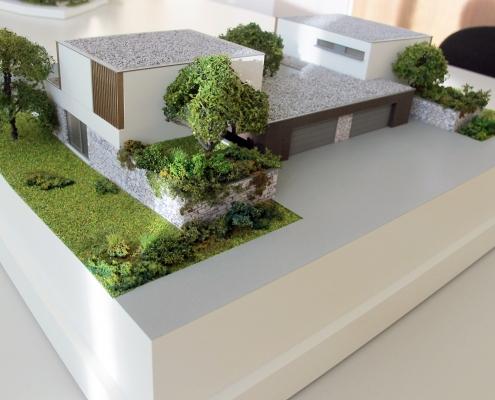 Farebný model rodinných domov